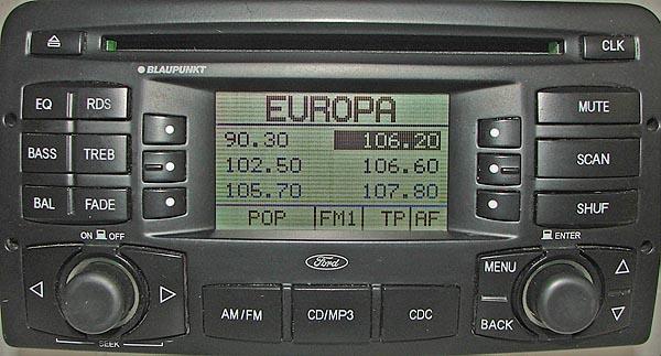 ford CD MP3 BP2310 3S4T-18C869-AG code