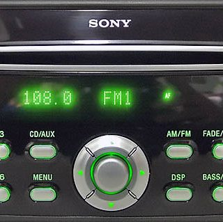 ford SONY C307 C214 MP3 RDS 3M5T 18C815 HJ visteon code
