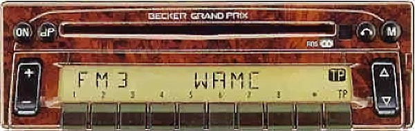 BECKER GRAND PRIX 2000 CD be2235 code