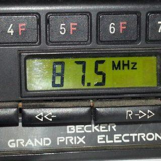 BECKER GRAND PRIX ELECTRONIC code