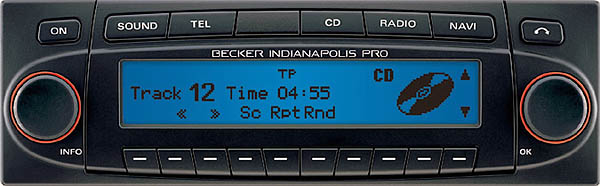 BECKER INDIANAPOLIS PRO be7955 code