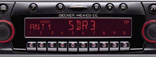 BECKER MEXICO CC be4327 code
