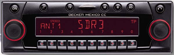 BECKER MEXICO CC be4327 code