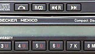 BECKER MEXICO CD be0876 code
