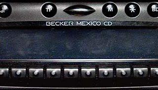 BECKER MEXICO CD be4337 code