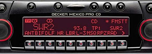 BECKER MEXICO PRO CD be4627 code