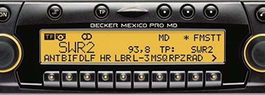 BECKER MEXICO PRO MD be4937 code