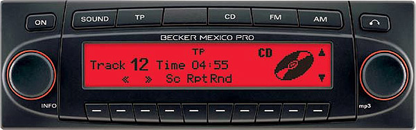 BECKER MEXICO PRO be7937 code
