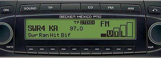 BECKER MEXICO PRO be7938 code