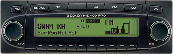 BECKER MEXICO PRO be7938 code
