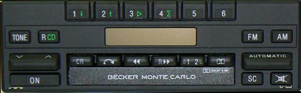 BECKER MONTE CARLO be1139 code
