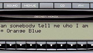 BECKER MONZA MP3 be7882 code