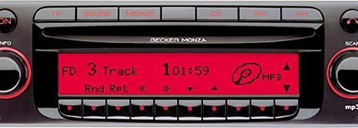 BECKER MONZA MP3 be7887 code