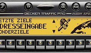 BECKER TRAFFIC PRO HIGH SPEED be7824 code