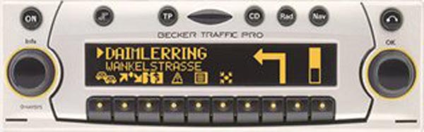 BECKER TRAFFIC PRO be4723 code