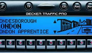 BECKER TRAFFIC PRO be4725 code