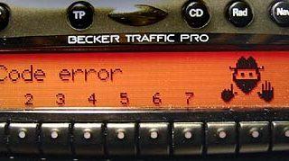 BECKER TRAFFIC PRO be4730 code