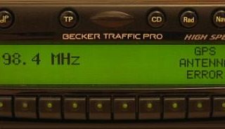Becker BE7830 Ford Traffic Pro High Speed code