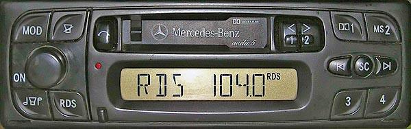 MERCDES AUDIO 5 PA9715 CQ-LP3720L code