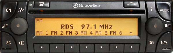 MERCEDES BENZ AUDIO 30 APS be4715 code