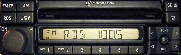 MERCEDES BENZ CD mf2297 code