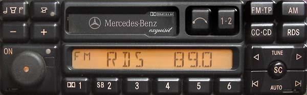 MERCEDES BENZ EXQUISIT PA9401 CQ-LP1420L A 003 820 57 86 MATSUSHITA code