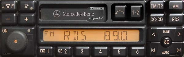MERCEDES BENZ EXQUISIT be1490 code