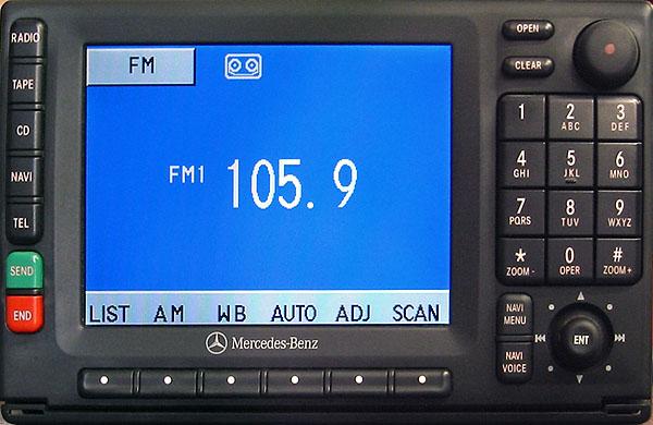 MERCEDES BENZ CC+CD navigation RA4910 code