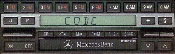 MERCEDES BENZ be1480 code