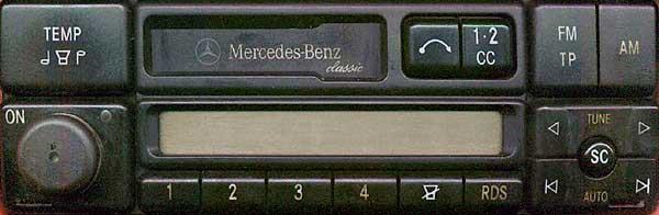 MERCEDES BENZ CLASSIC RDS 24v be1688 code