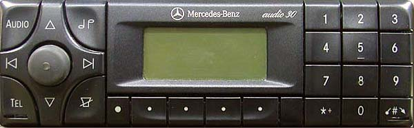 MERCEDES BENZ AUDIO 30 APS be3307 code