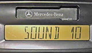 MERCEDES BENZ SOUND 10 be6044 code