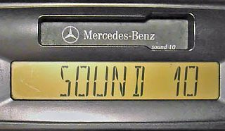 MERCEDES BENZ SOUND 10 be6045 code