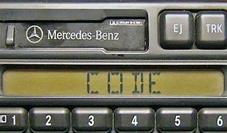 MERCEDES BENZ cm2296 ALPINE A 003 820 60 86