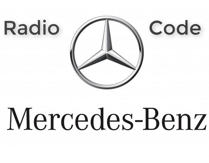 Mercedes Benz AUDIO 30 BE3311 code