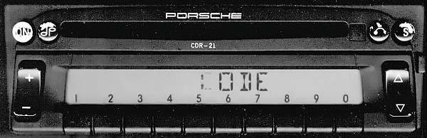 PORSCHE CDR-21 becker be2280 code