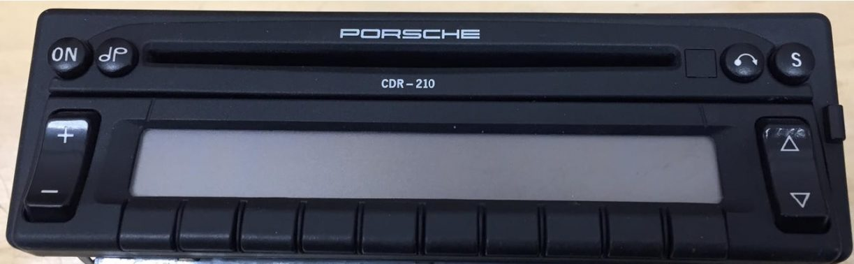 PORSCHE CDR-210 BECKER BE2262 code