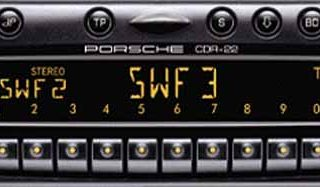 PORSCHE CDR-22 BECKER BE6621 code