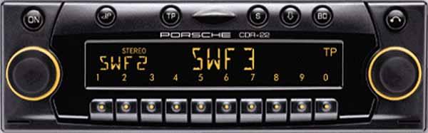 PORSCHE CDR-22 BECKER be4467 code