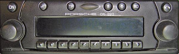 PORSCHE CDR-220 BECKER be6624 code