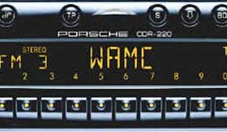 PORSCHE CDR-220 BECKER be6625 code