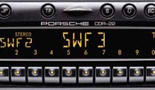 PORSCHE CR-220 becker BE4362 code