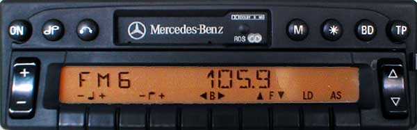 mercedes benz RDS AVUS small panel be2035 code