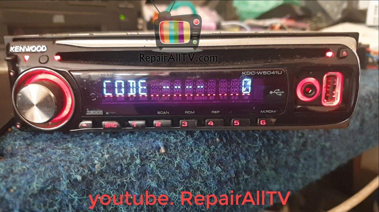 kenwood KDC-W5041U-A code off eeprom 24c04