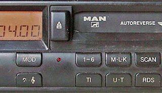MAN 2446 RDS code BP5019 24v blaupunkt