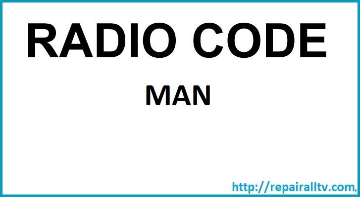 MAN 2446 TIM code BP5020 24v blaupunkt