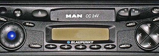 MAN CC 24v code blaupunkt