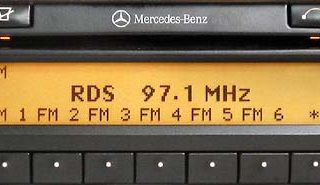 MERCEDES BENZ SOUND 30 APS CD be4707 code