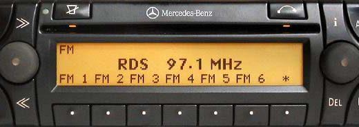 MERCEDES BENZ SOUND 30 APS CD be4707 code