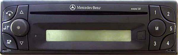 MERCEDES BENZ SOUND 30 CD be4613 code